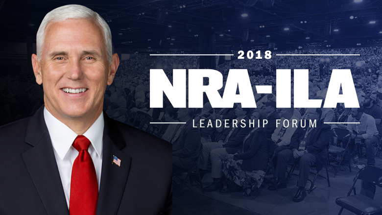 Guns banned during VP Pence's appearance at NRA convention in Dallas